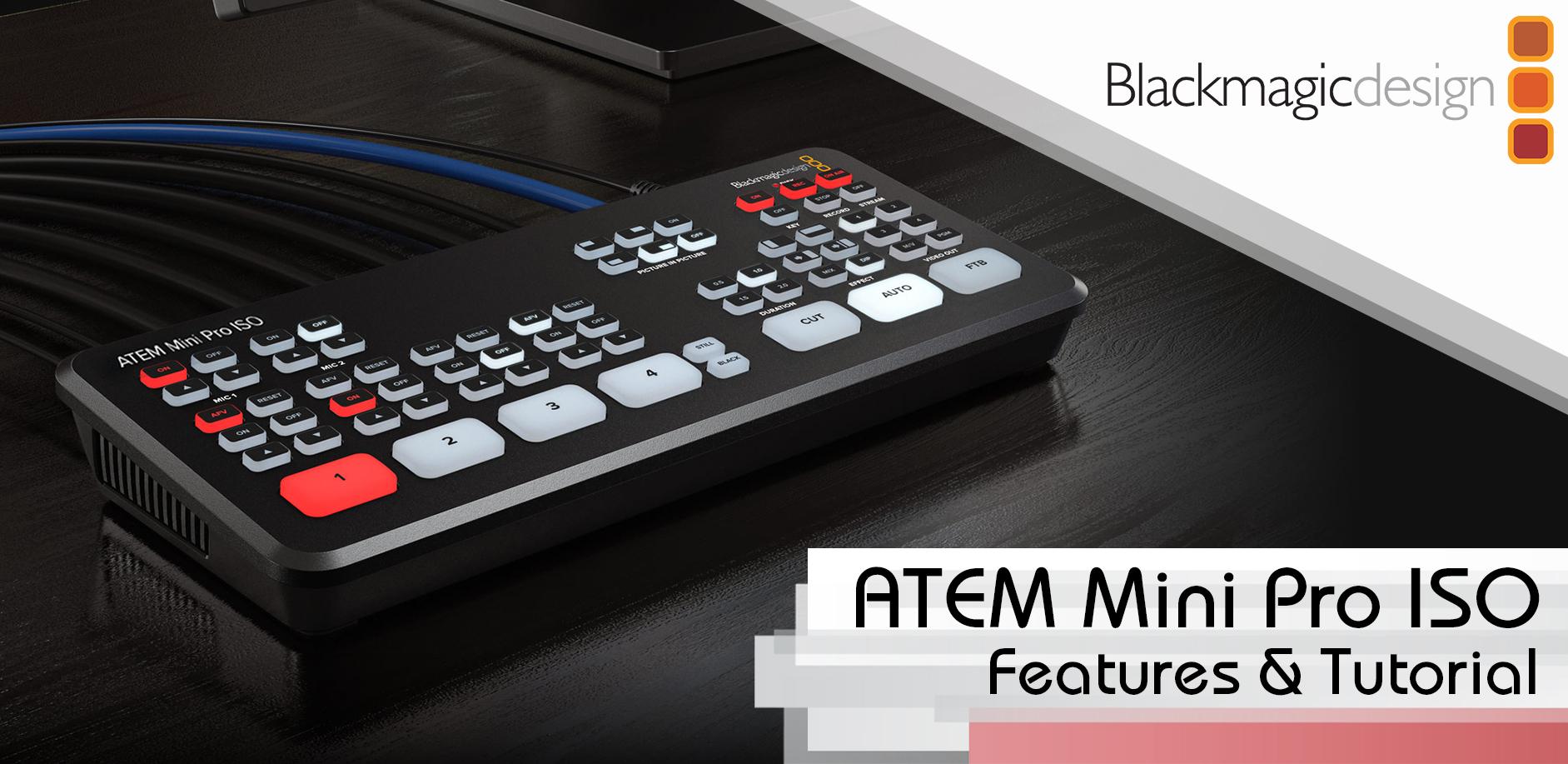 Meet The Atem Mini Pro Iso 1sourcevideo