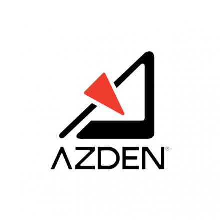 Azden Powered Shotgun Video Microphone with +20dB Boost