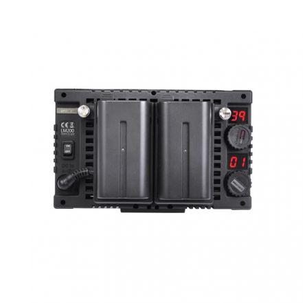 Cineroid LM200 On-Camera LED Light Kit (Set of 3)