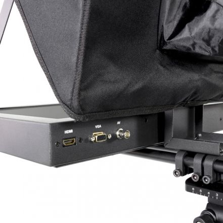 Fortinge PROS19-HB 19'' Studio Prompter Set with HDMI, VGA, BNC Input (High Brightness)