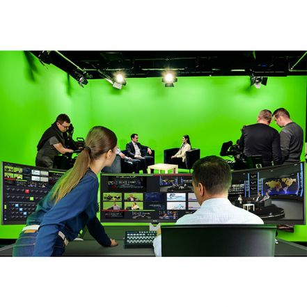 RECKEEN 3D Studio XR - 4K Virtual Studio with AR & PTZ Tracking