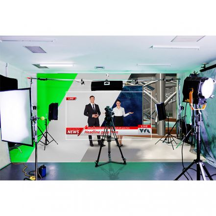 RECKEEN 3DS Pro XR - 4K Virtual Studio with AR & PTZ Tracking
