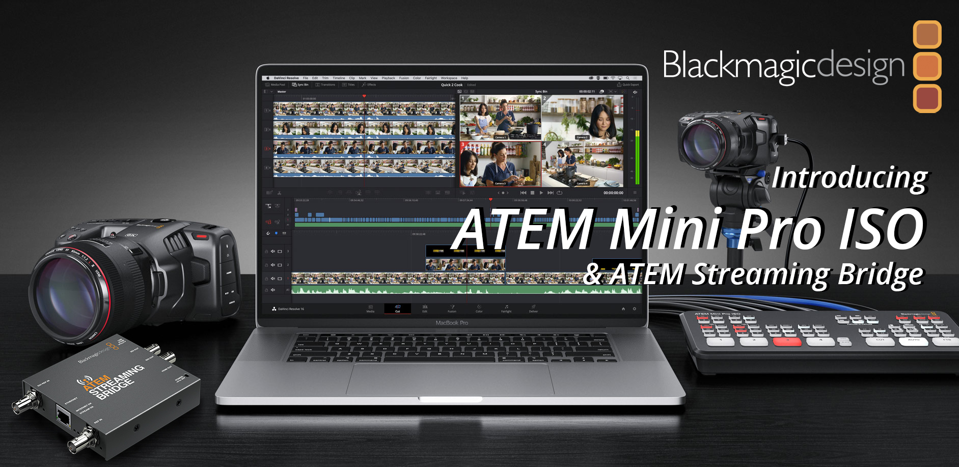 Introducing The Atem Mini Pro Iso Atem Streaming Bridge 1sourcevideo